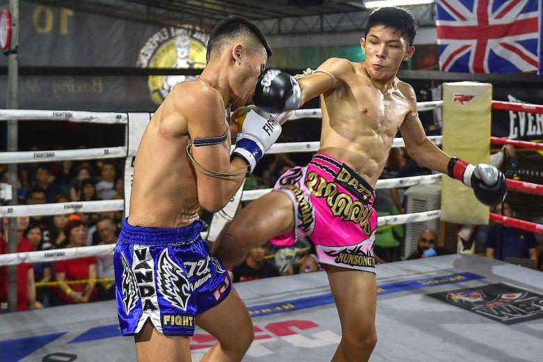 el Muay thai, un deporte para fieras.